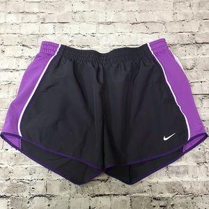 Nike Shorts size Medium Purple and Gray